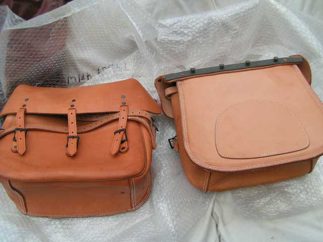 Brown Leather Motorcycle Saddlebags Motorcycle Review