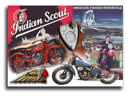 Ziggys Indian Motorcycle Sport Scout Parts
